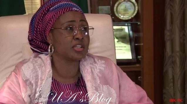 Aisha Buhari finally speaks on arrest of ADC, Baba-Inna over N2.5 billion Fraud