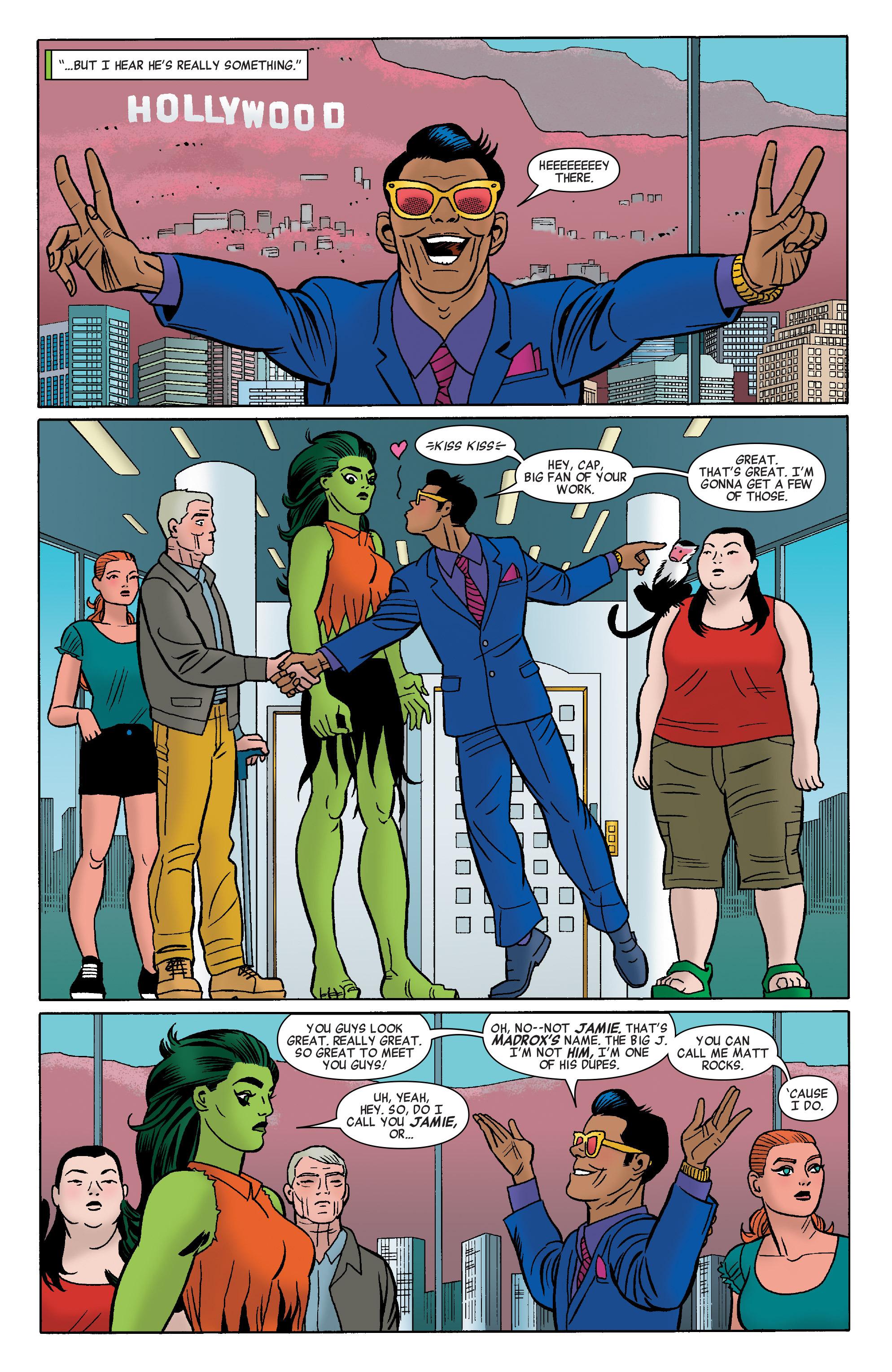 Read online She-Hulk (2014) comic -  Issue #8 - 17