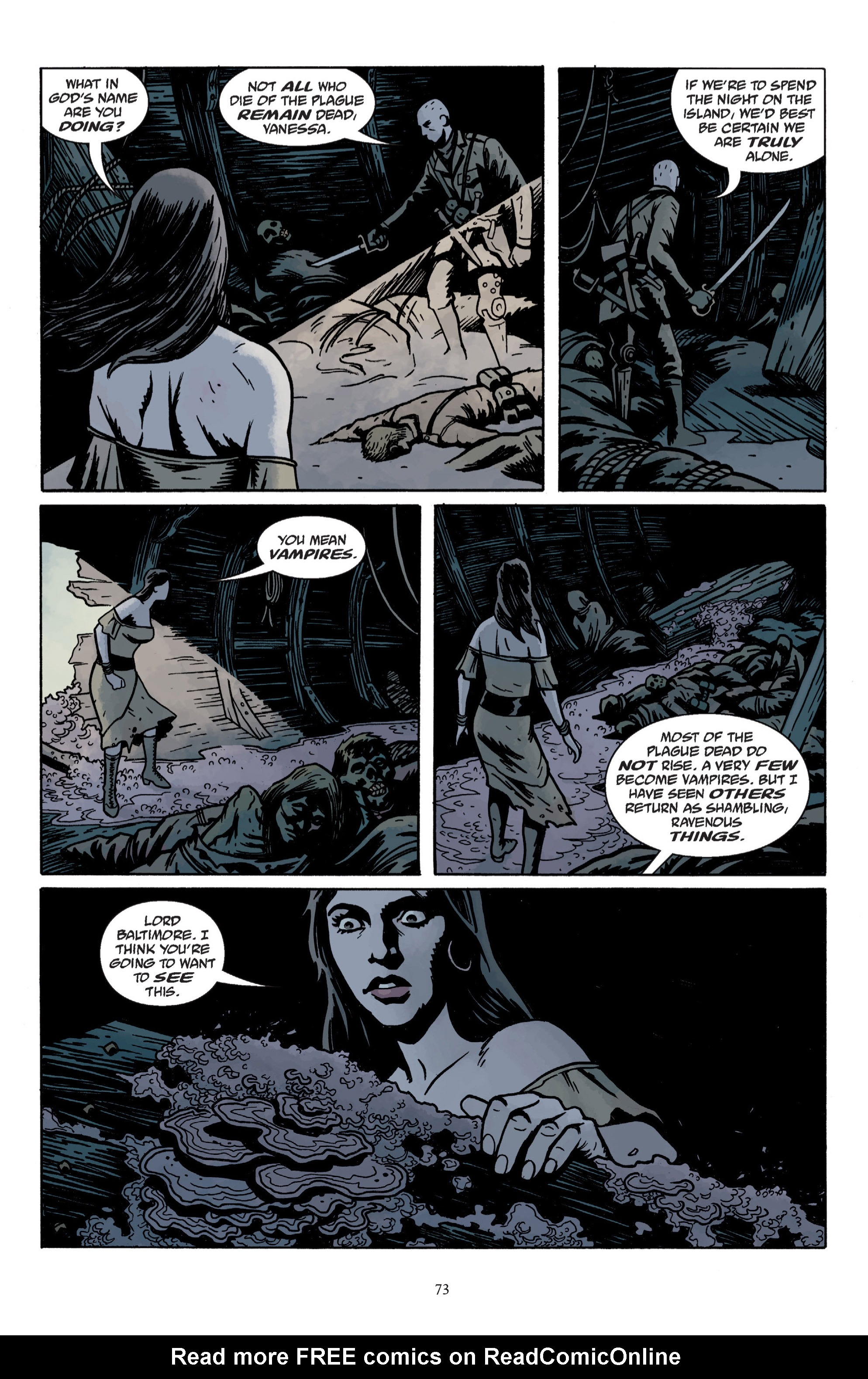 Read online Baltimore: The Plague Ships comic -  Issue # TPB - 75