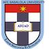 ABUAD 2017/18 Undergraduate Admission Screening Exercise Schedule