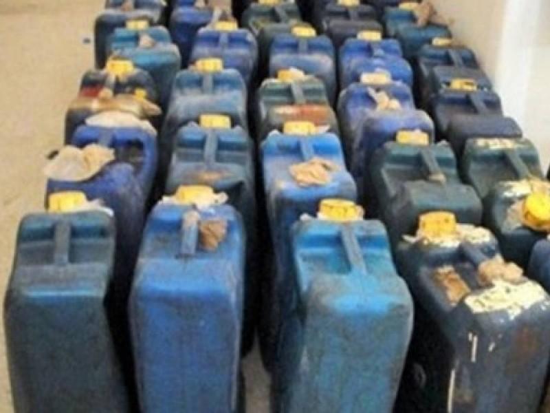وزارة التموين تتمكن من ضبط 164 ألف لتر مواد بترولية مدعمة قبل بيعها بالسوق السوداء