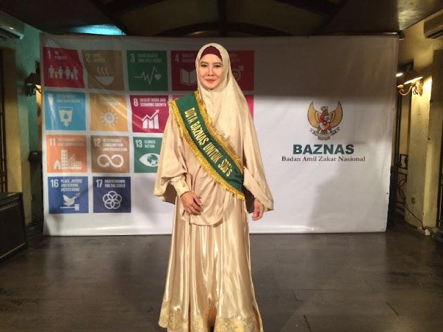 Lama Tak Muncul di TV, Peggy Melati Sukma Sekarang Jadi Duta Baznas