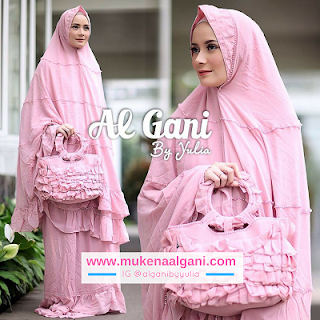 mukena%2Brufle%2B1 Dokter barbie Tika  cantik wearing Mukena Najwa super duper Best Seller 😍