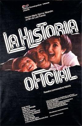 Póster de La historia oficial, de Luis Puenzo