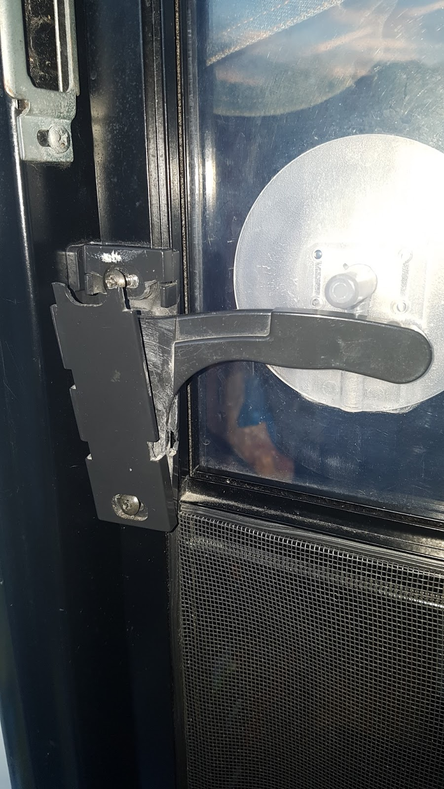 We Discover Canada And Beyond Replacing The Door Handle On The Rv