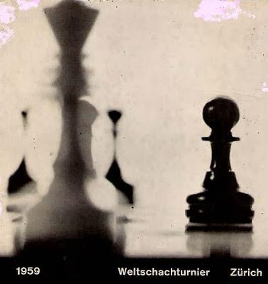 Portada del libro del Torneo Internacional de Ajedrez Zúrich 1959