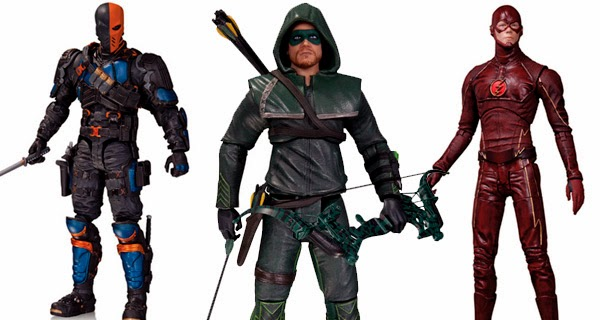 Figuras acción DC Collectibles segunda temporada ARROW