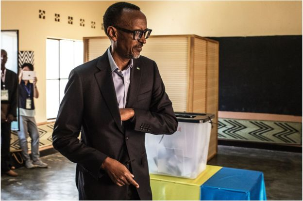 Rwanda election: President Paul Kagame wins by landslide