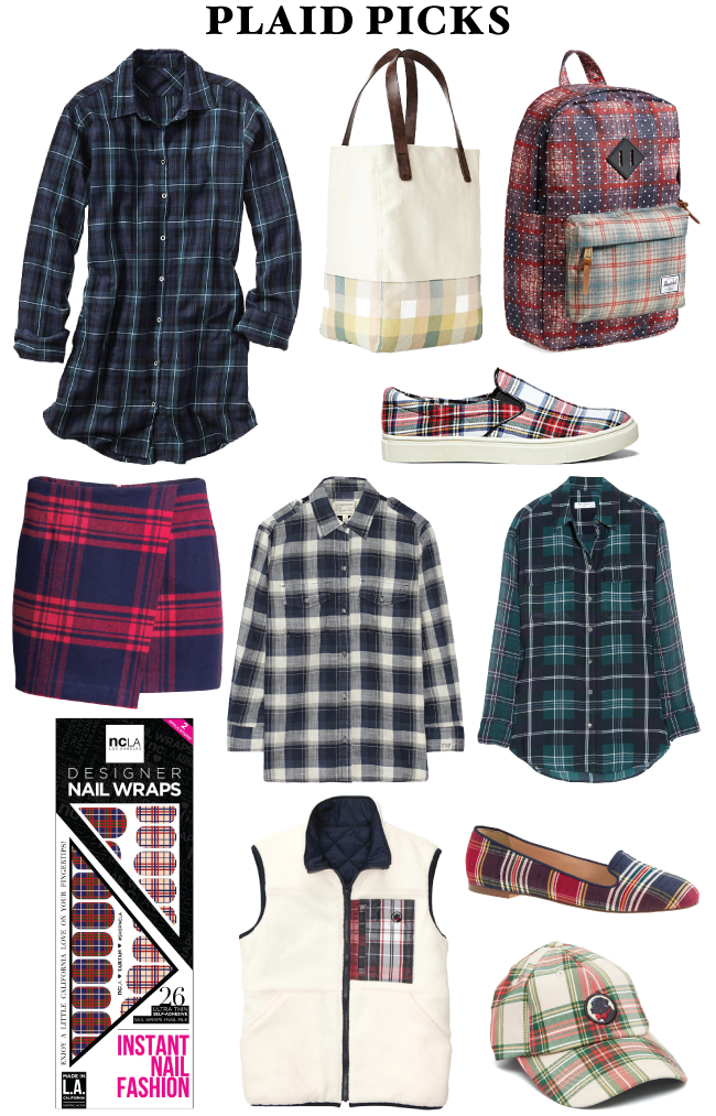 Plaid Picks // A Style Caddy
