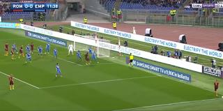 ملخص واهداف فوز روما على امبولي 2-0 السبت 01-04-2017 الدوري الايطالي