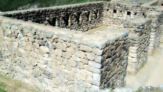 Exterior do Palácio dos Morteiros, Machu Picchu