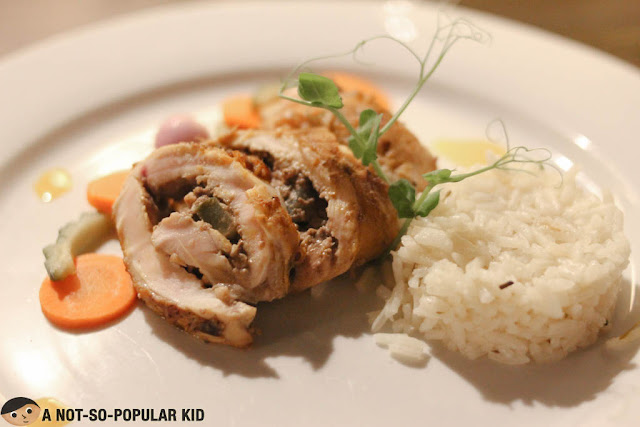 Chicken Inasal Roulade