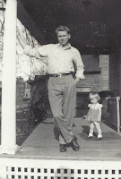 Russell Olsen with daughter