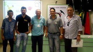 Grupo setor mineral em foco participa de semana de mineração do IFPB