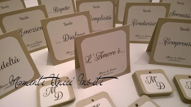 1 I libretti cerimonia di Denise e Marco (e gli altri coordinati)Colore Bianco Colore Sabbia cover libretti Libretti messa