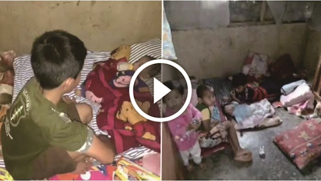 VIDEO: Ayahnya Meninggal Dan Ibunya Pergi, Kisah Bocah Kelas 5 SD Yang Urus 3 Adiknya Ini Bikin Nangis