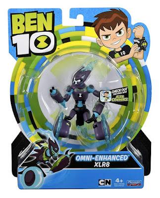 BEN 10 XLR8 Omni-Mejorado   Omni-Enhanced XLR8  Figura de acción - Muñeco   Producto Oficial Serie Bing 2019   76122   A partir de 4 años  COMPRAR ESTE JUGUETE