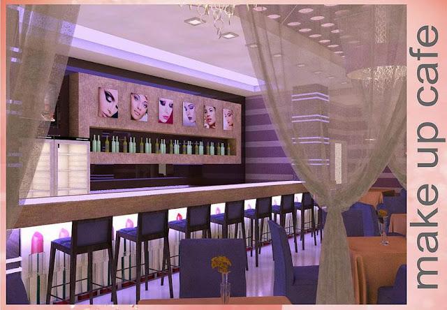 интерьер кафе, дизайн интерьера кафе в Одессе