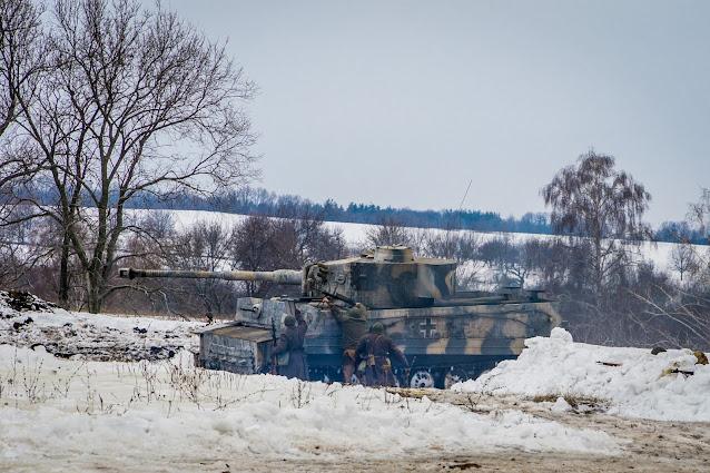 Реконструкция боя при Соколово 9.03.2018 - 31