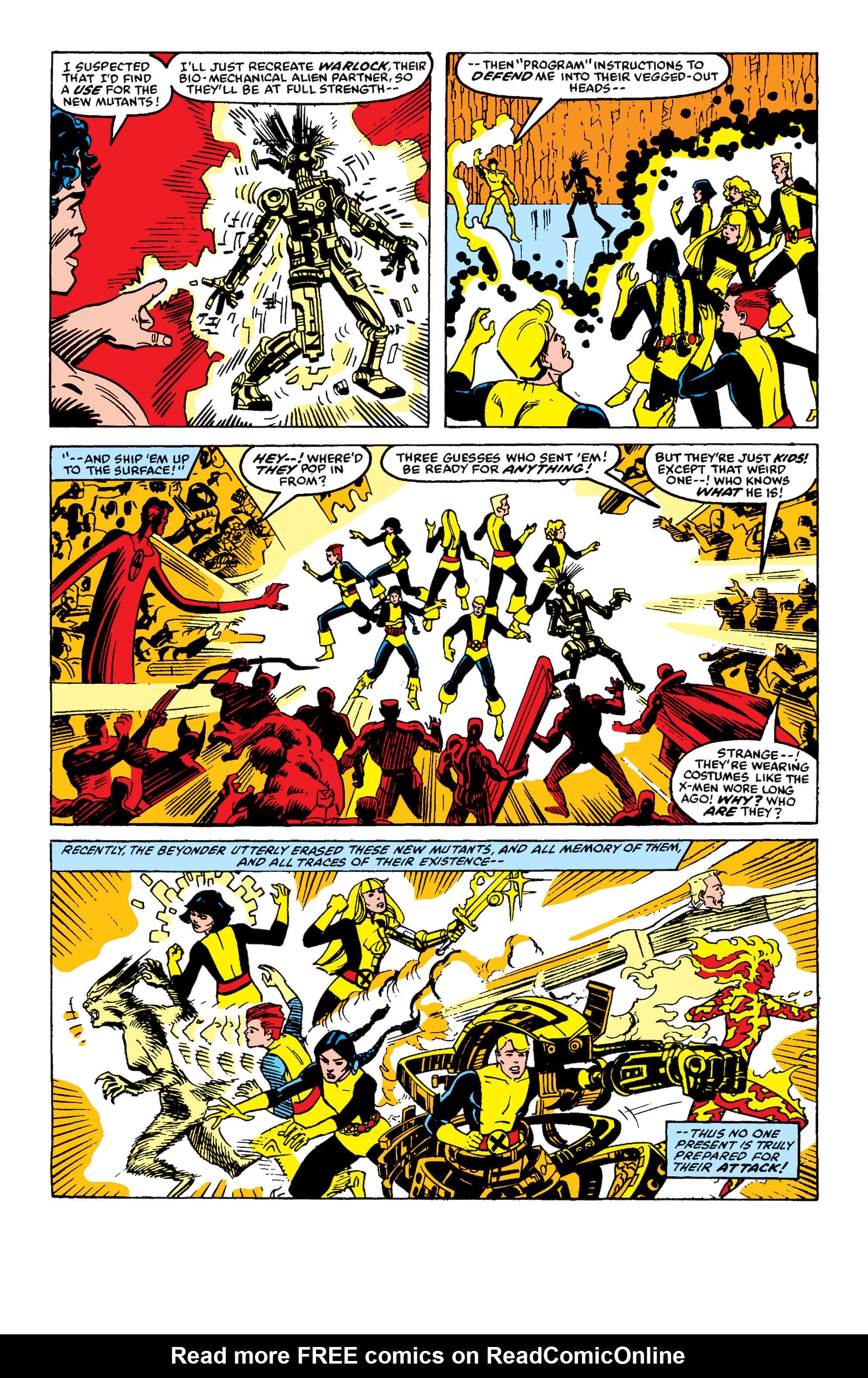 Read online Secret Wars II comic -  Issue #9 - 23