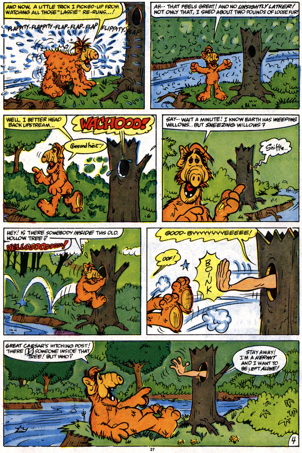 Read online ALF comic -  Issue #10 - 20
