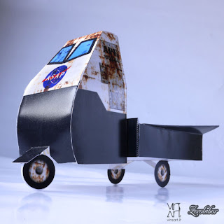 Ape paper custom paper toy