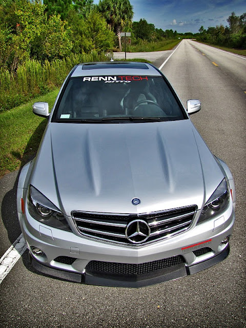 mercedes w204 c74 renntech body kit