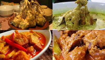 Inilah 5 Makanan Khas Yang Dijumpai Saat Lebaran