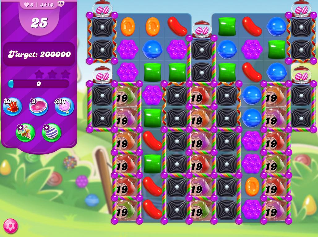 Candy Crush Saga level 4410