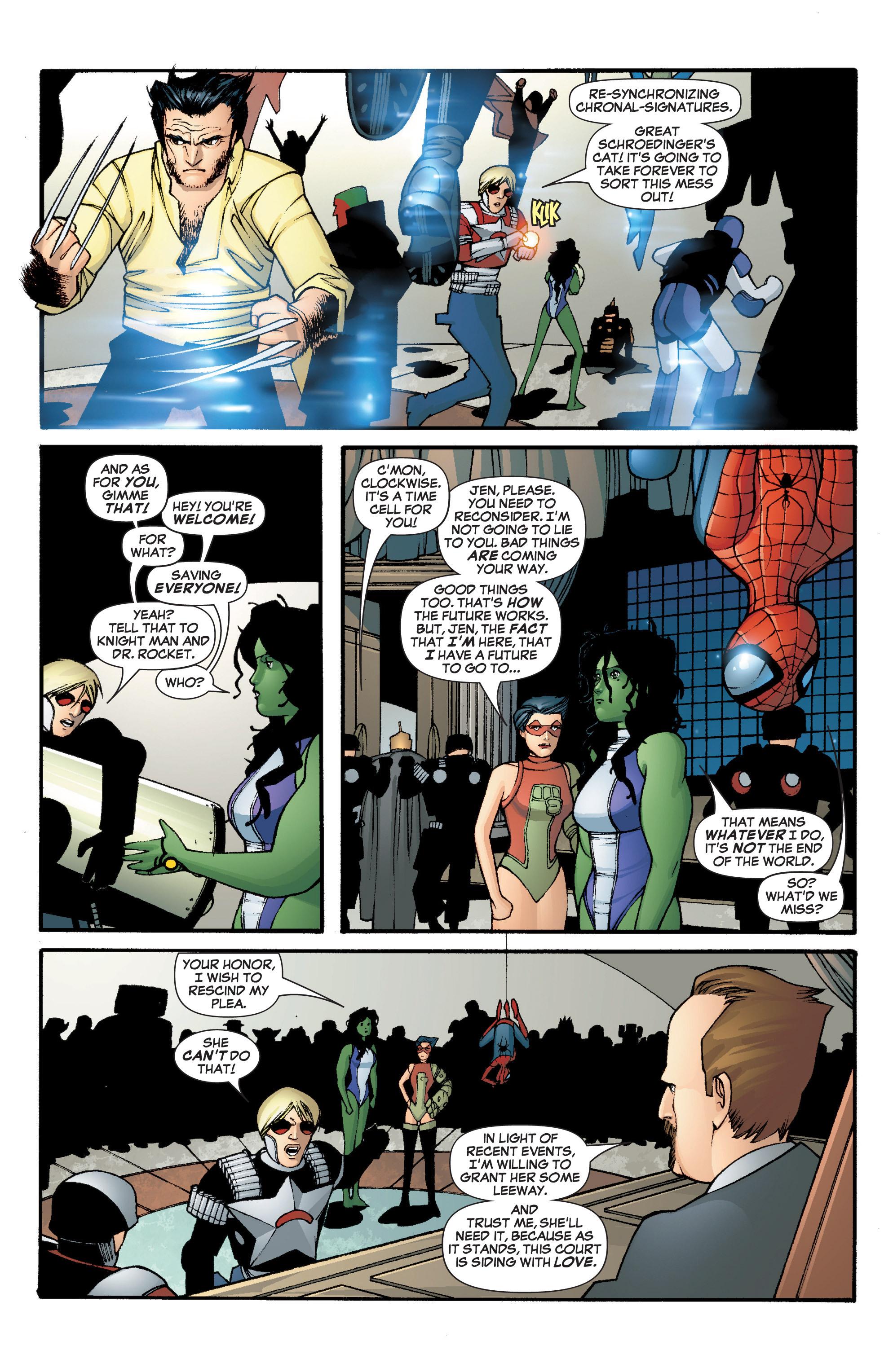 Read online She-Hulk (2005) comic -  Issue #3 - 33