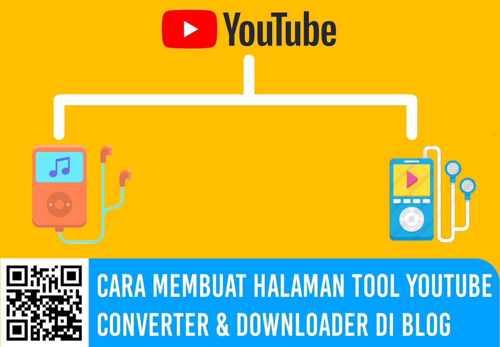 Cara Membuat Halaman Tool YouTube Converter & Downloader di Blog
