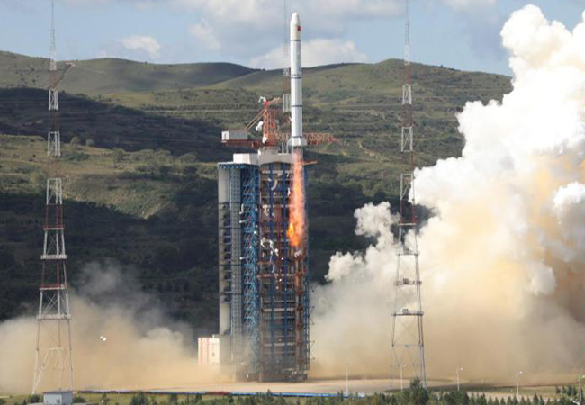 Tinuku China launched new marine HY-1C satellite