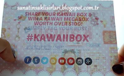 ÇEKİLİŞ | Unboxing Kawaii Box 2015 Aralık Ayı Kutusu Açılımı
