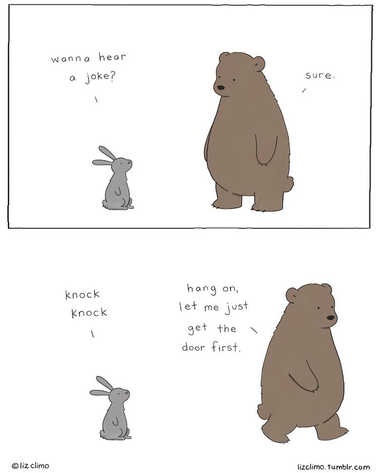 20 Adorable Comics Depict Cute, Funny Habits Of Animals