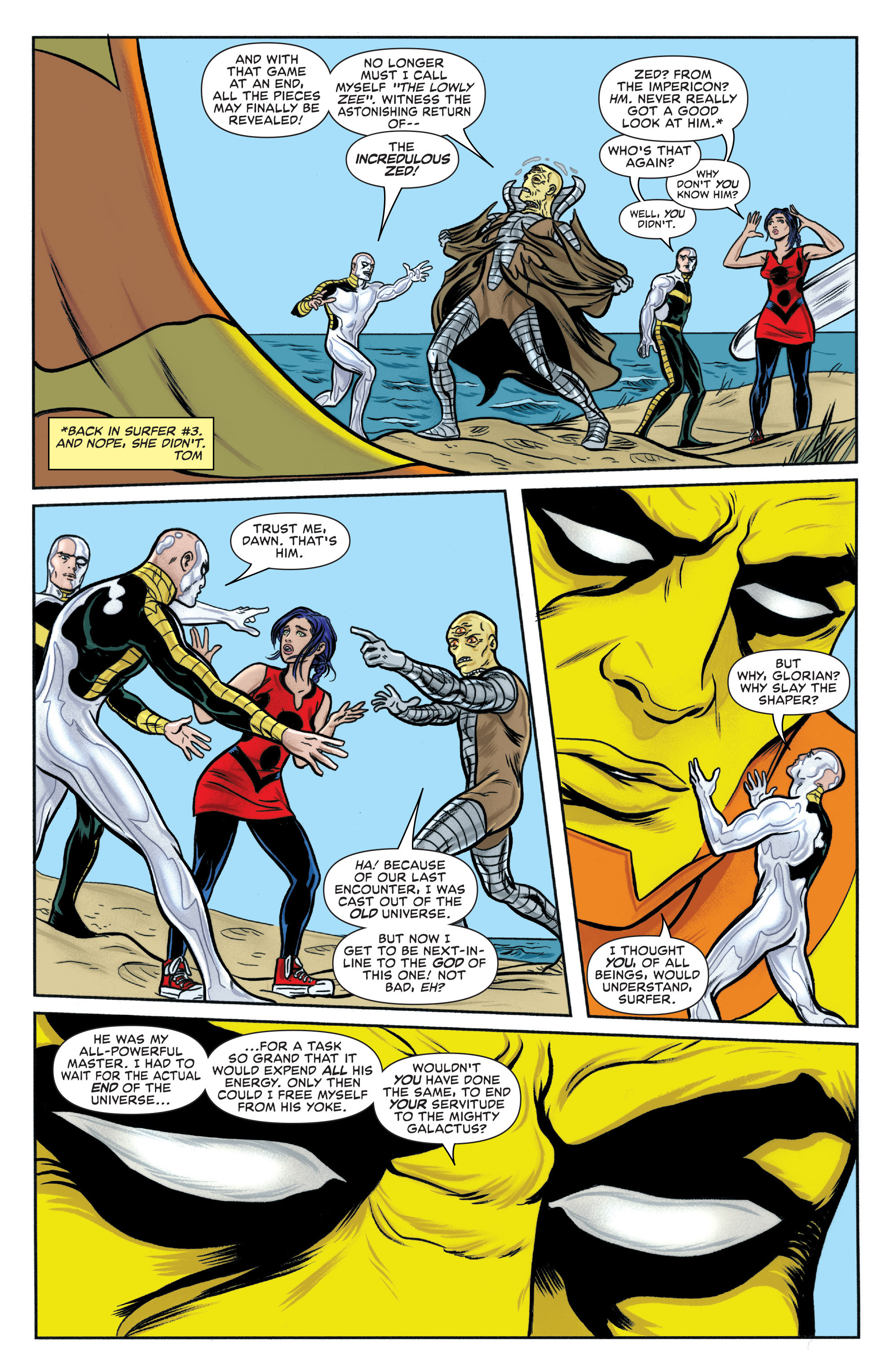 Read online Silver Surfer (2014) comic -  Issue #15 - 10