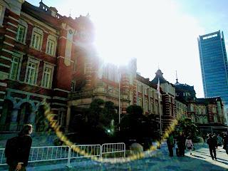 東京駅丸の内中央口の外観