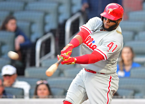 Philadelphia Phillies win again as Santana breaks out