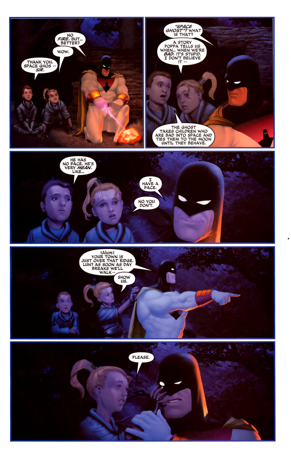 Read online Space Ghost (2005) comic -  Issue #4 - 19