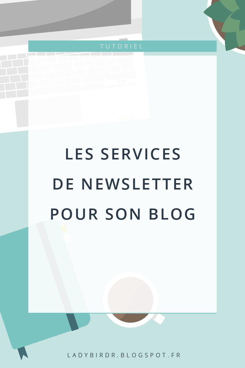 Les services de newsletter pour son blog