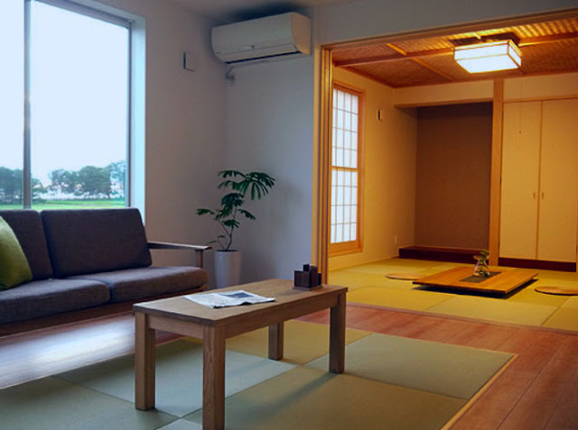 traditional japanese living room style
