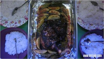 Resepi Ringkas Baked Chicken with Mushroom and Soya Sauce