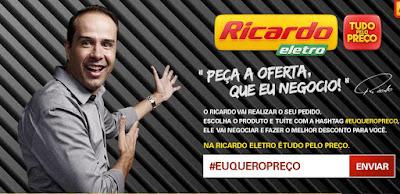 #EuQueroPreço será apresentado pelo empresário Ricardo Nunes ao vivo a partir desta quinta-feira