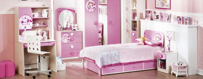 Hogares frescos 100 dise os de habitaciones para ni as - Diseno de habitaciones modernas ...
