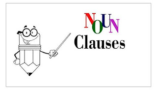 Grammatical names (noun clause, adverbial clause and adjectival clause) and their functions