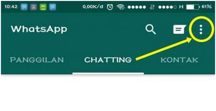 cara menyembunyikan online di whatsapp