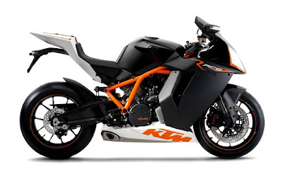New 2016 KTM 1190 RC8R black white edition