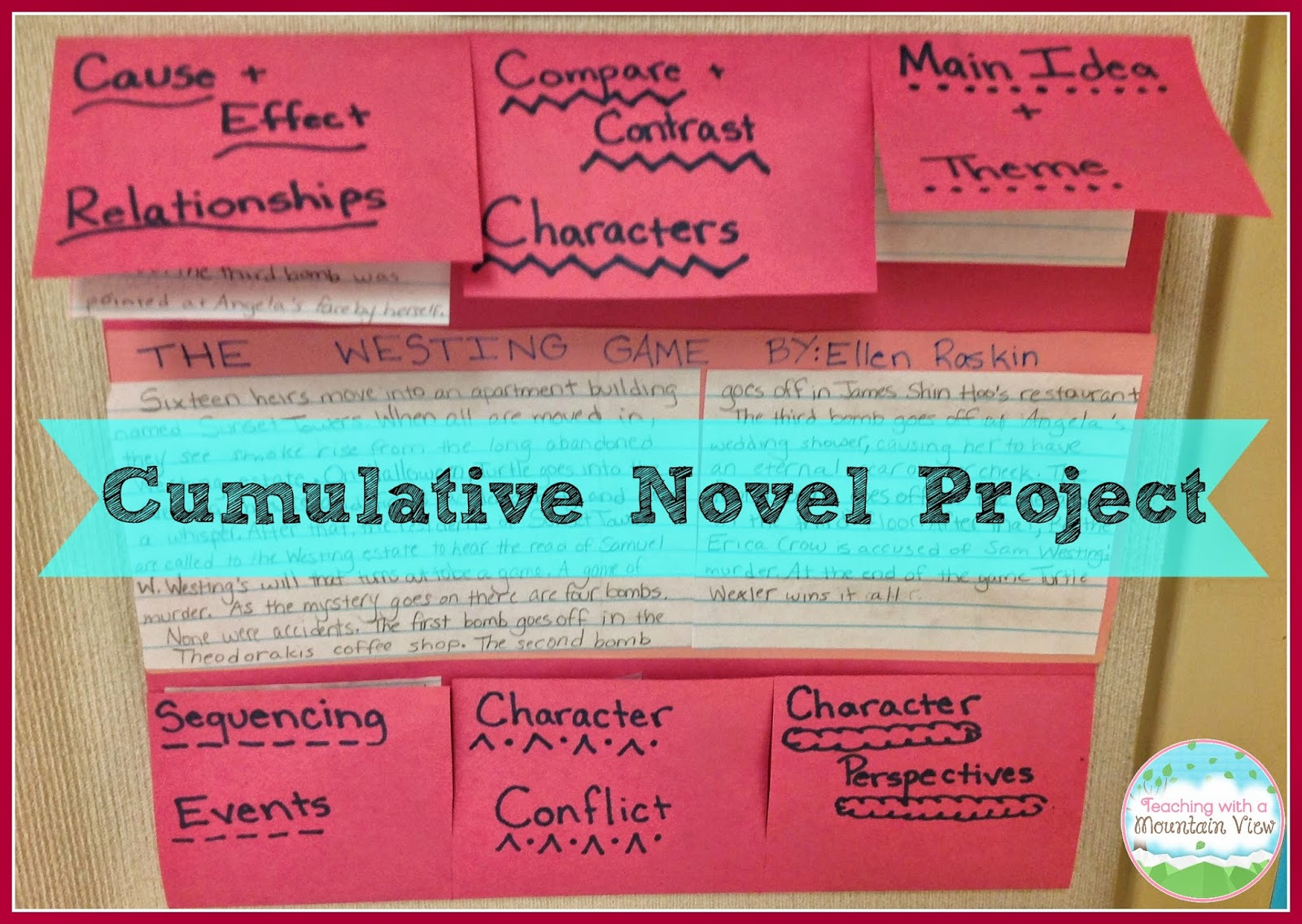 Teaching With a Mountain View: Cumulative Novel Projects