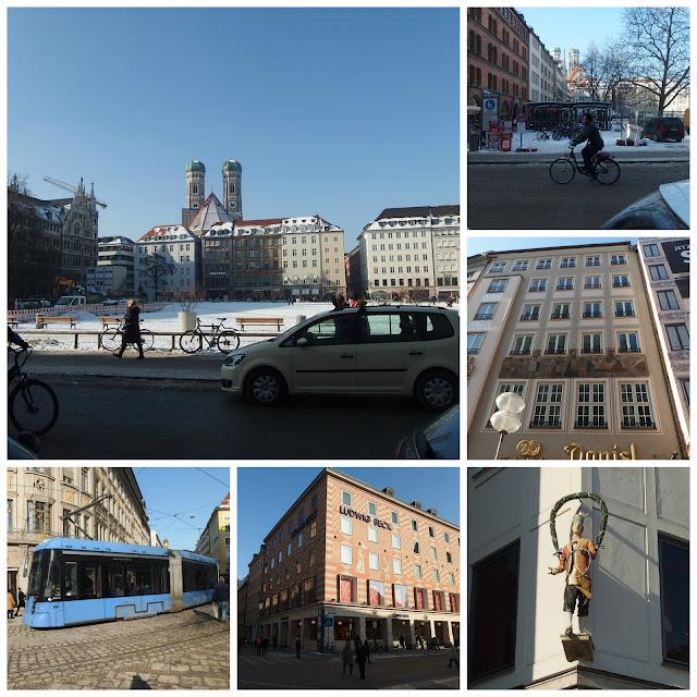 A walk around Munich city centre
