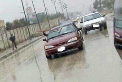 Autofahrer Bilder bei Regen lustig