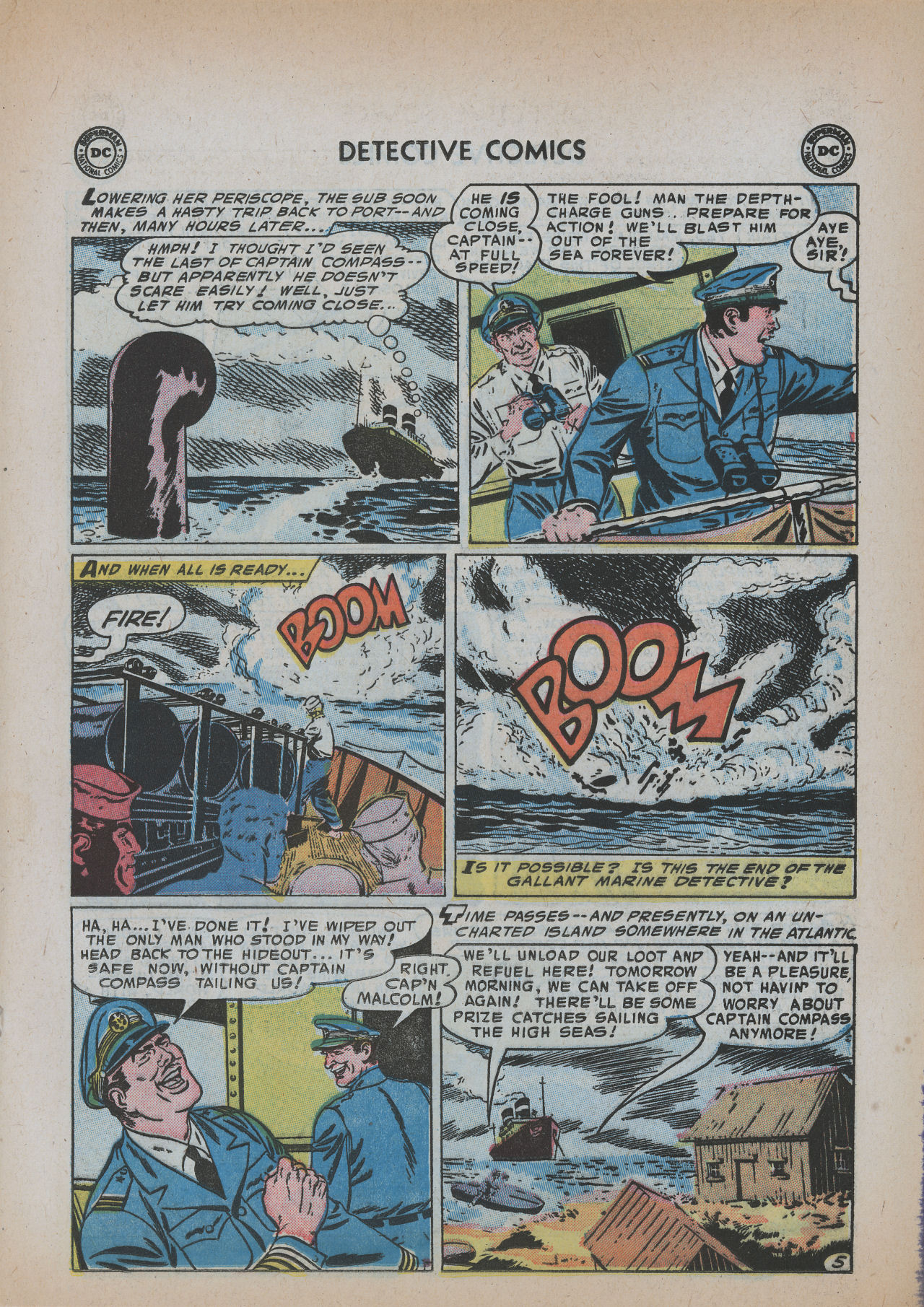 Read online Detective Comics (1937) comic -  Issue #219 - 21